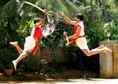 Kalaripayattu is said to be the oldest martial art in the world that has been practiced in India for over 4,000 years.