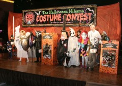 Goblins and ghouls crawl on stage for the sixth annual Mihama Halloween Costume Contest on Oct. 31.