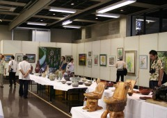 Yambaru Exhibition highlights arts and handicrafts of the northern part of the island through Sunday at Nago Civic Hall.