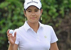 Ai Miyazato was not able to get her putter to work on the final round of the Titleholders Tournament.
