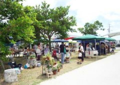 Itoman Yurari Market sells handicrafts and gardening items.