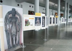 The exhibition consists of 60 photos of objects and structures dating back to the 6th century.
