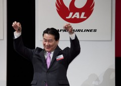 JAL officials have a good reason to smile and celebrate this holiday season as they look at their reservation books.