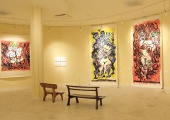 "Two of Bokunen's large prints are ready for observation and to awaken viewer's ""power of human."""