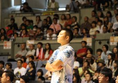 The Golden Kings Head Coach Kouto Tohyama guided the bj-League West team to the win of weekend's All Star Game.