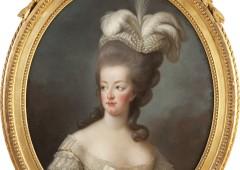 Elisabeth-Louise Vigée Le Brun. Portrait of the Queen of France-Marie Antoinette. 1778. Marquis Henri Francois de Breteuil ©La Vie de MARIE‐ANTOINETTE2012-13