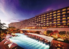 The new Hilton Hotel and Resort is now under construction and scheduled to be completed in 2014.