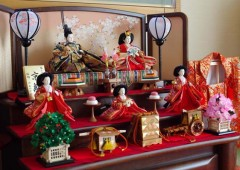 Hina doll sets are often elaborate, and can be very expensive.