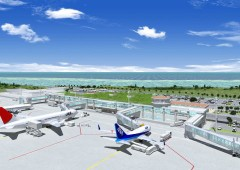 The new Ishigaki Airport that has been in the works for 37 years is finally opening for business today.