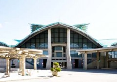Okinawa Convention Center in Ginowan provides the venue for the Hawaiian Festival Apr. 29.