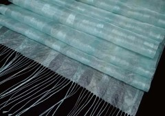 Akezuba textiles are made of threads that are only about 1/10 of the thickness of human hair.