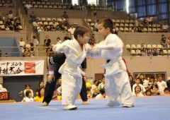 Starting early is important, and the Fighting Karate open Tournament has categories for competitors of all ages.