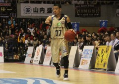 Point guard Narito Namizato, who has averaged the second highest in assista in the league this season, still has his work cut for him this weekend against Kyoto Hannaryz.