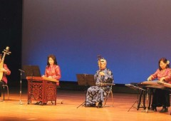 Traditional Chinese instruments such as (from left) Biwa, Youkin, Niko (Erhu) and Yokin are the focus of the Silk Road Concert on Sunday.