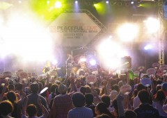 The annual Peaceful Love Rock Festival is scheduled to take place this weekend at Okinawa City Sports Park outdoor stage.