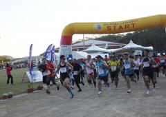 The race starts at 3 p.m. meaning that most runners run half of the course under stars and moonlight away from the harsh midday sun.
