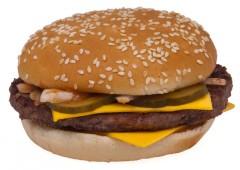 McDonald's Quarter Pounder.