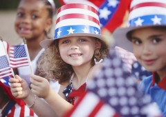 Americans throughout the world are celebrating their country's 237th birthday.