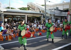 Motobu Summer Festival focuses mostly on local entertainment including Eisa.