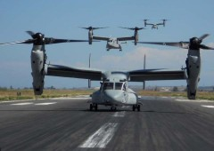 The Japanese government White Paper on defense sees the deployment of MV-22 Osprey to Okinawa as positive for deterrence.