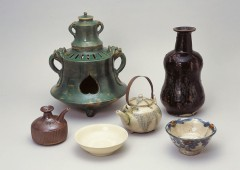 """The exhibition showcases the whole range of """"yachimun"""" products."""