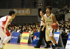 Shigeyuki Kinjo made his debut as the new captain of the team.