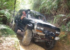 There are plenty of impressive off-road trails on Okinawa but they are hard to find.