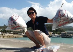 Onna Village Umi Kirei Committee took part in a beach cleaning campaign.