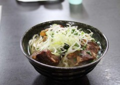 Okinawan soba is what one could call a true local fast food; available everywhere on a short notice, and delicious.