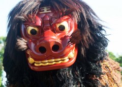 Shishimai, a.k.a. the Lion Dance, is one of the many traditional performances in Shikinaen this Sunday.
