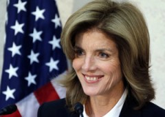 Caroline Kennedy, the new U.S. Ambassador to Japan.