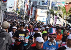 It can be crowded, especially on first stretches, when 25,000 runners hit the course.