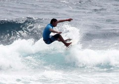 Itoman Mayor's Cup surfing contest is the only officially endorsed surfing event on Okinawa.