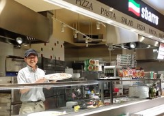 All Sbarro's pizzas are made fresh daily and nothing is brought in frozen and heated up.