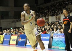 Draelon Burns was hot on Saturday scoring 21 points. (file photo)