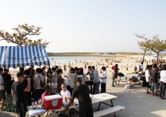Although not yet in full swing, the Okinawa beach season is gearing up, and that means beach parties and all the fun one can have on the prefecture's numerous beaches.