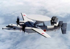 Four E-2C Hawkeye aircraft have been deployed to JASD Naha Air Base.