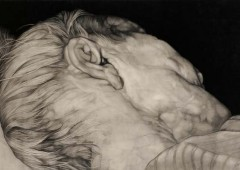 Pencil drawings by Susumu Kinoshita are almost excruciatingly detailed creating strong impressions on viewers.