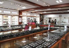 Teruya Jewelry has a huge selection of custom made and regular jewelry at store.