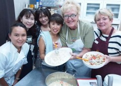Global Village cooking classes are a wonderful way to make international friends.