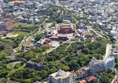 Shuri Castle, its location and orientation of all buildings within its compound were all thoroughly vetted using Feng Shui when the original was constructed. The current restored castle was built in exactly same location.