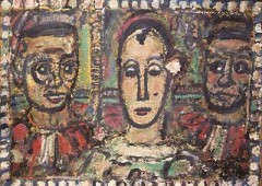 "Georges Rouault's ""Accused"" from 1953-56."