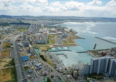 Chatan's Mihama area has gradually grown into the key business district and best known tourist area in the town even though it's almost entirely built on a landfill.