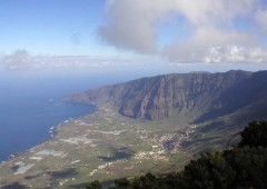 Golfo Valley on El Hierro.