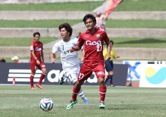 FC Ryukyu plays in Japan professional soccer J-League III Division.
