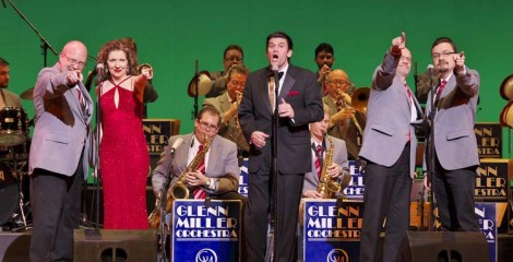 The Glenn Miller Orchestra celebrates the 50th anniversary of its first performance in Japan with a concert at Naha Civic Hall on Oct. 5th.