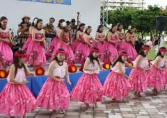 Several Hula groups perform Saturday starting at noon.