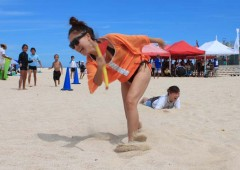 Organizers promise that everyone has fun and good time at the Azama Sun Sun Beach Festival.