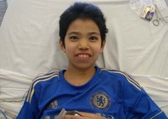 12-year-old Rai Matsushima is waiting for a heart transplant.