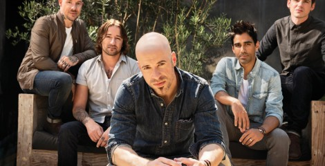 Daughtry is on stage at Camp Foster Saturday.